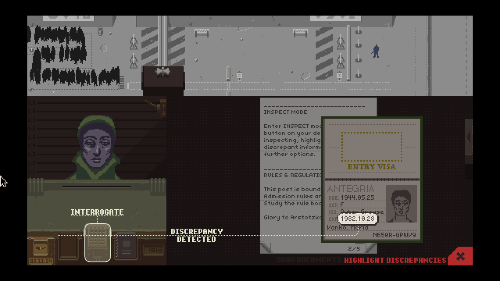 Papers, Please: A Review for an Indie Classic