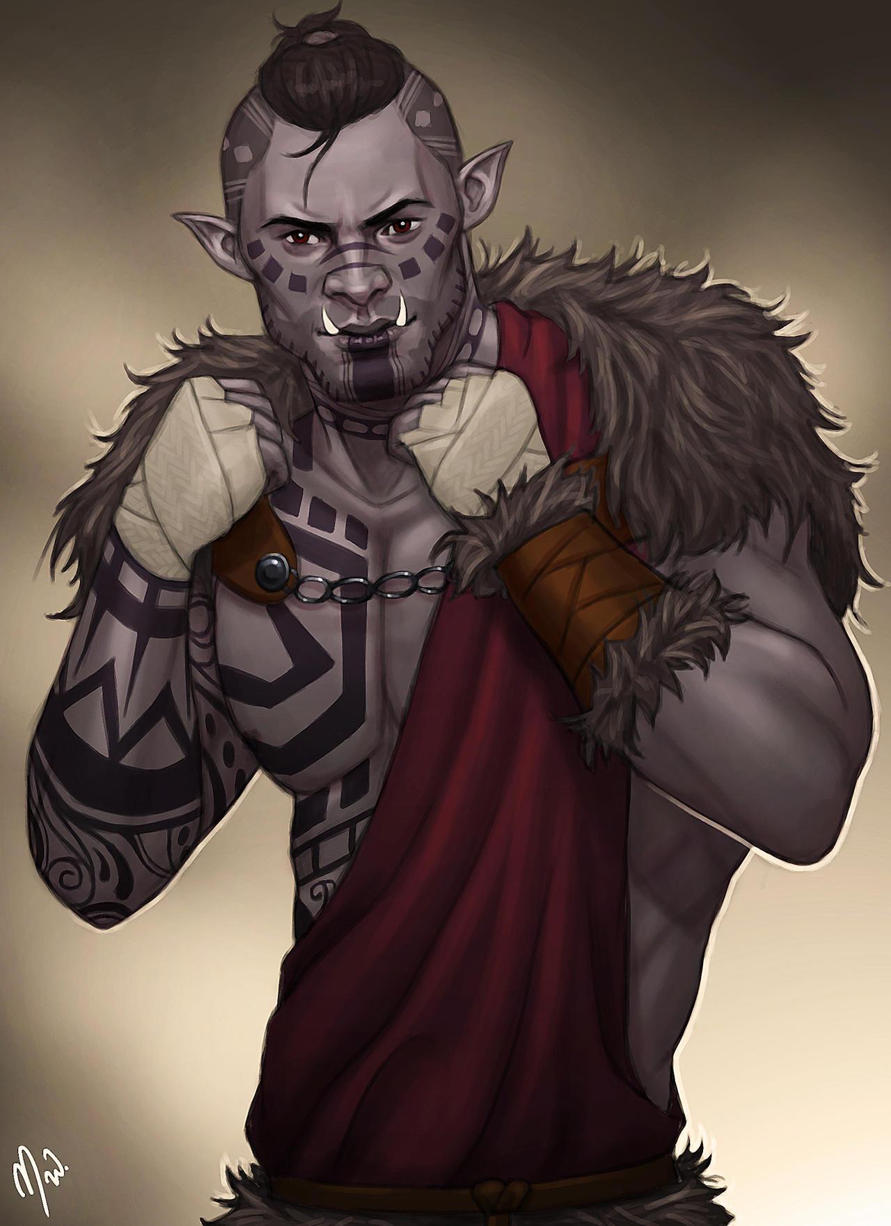 D&D 5e: Half-Orc Monk Guide