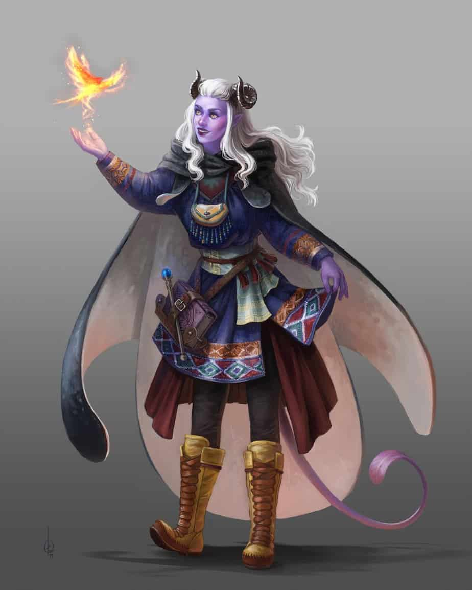 D&D 5e: Tiefling Wizard Guide