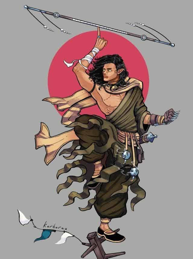 D&D 5e: Half-Elf Monk Guide