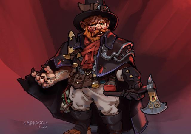 D&D 5e: Halfling Blood Hunter
