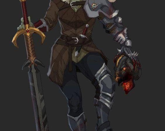 D&D 5e: Half-Orc Blood Hunter