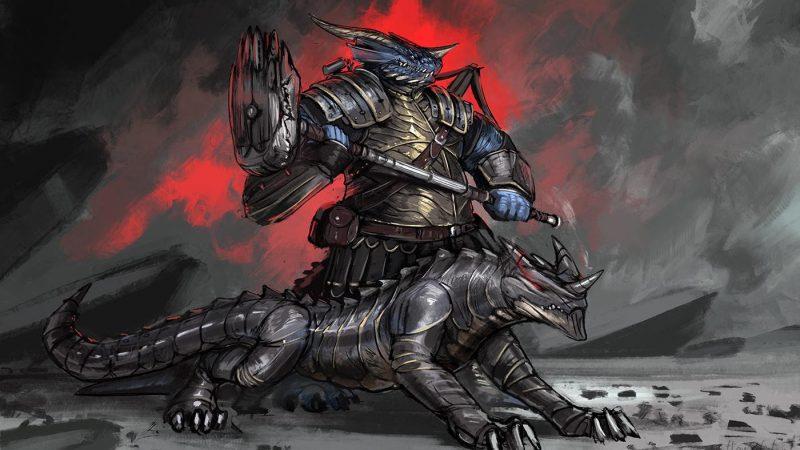 D&D 5e: Dragonborn Artificer