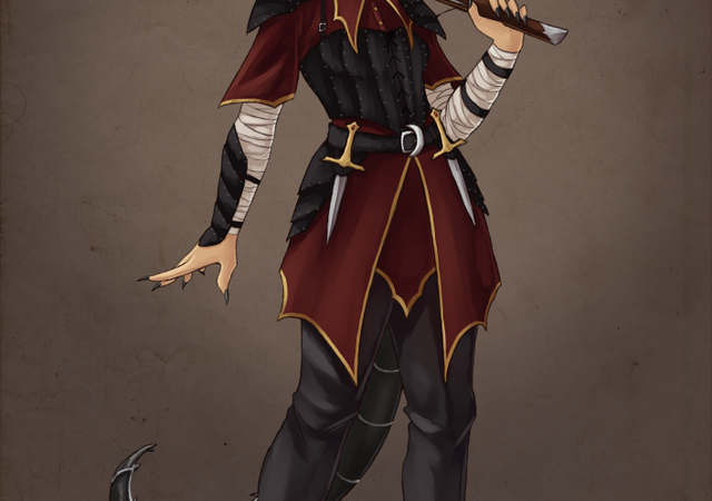 D&D 5e: Tiefling Blood Hunter