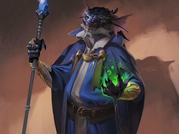 D&D 5e: Dragonborn Wizard Guide