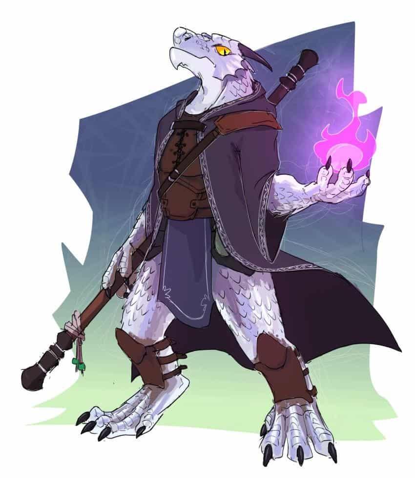 D&D 5e: Dragonborn Warlock Guide