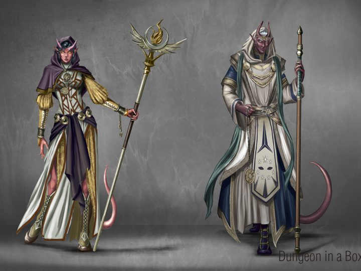 D&D 5e: Tiefling Cleric Guide